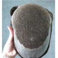 Wholesale Wholesale Natural Hairline Human Hair Men Toupee Hairpiece Swiss Lace European Hair from china suppliers