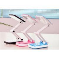 Wholesale LED Portable Flexible Adjustable Work and Study Foldable Charging Desk Lamp DL7002 from china suppliers