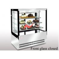 Wholesale Anti - Fog  Square Cake Display Refrigerator , Food Display Cabinets With LED Lights from china suppliers