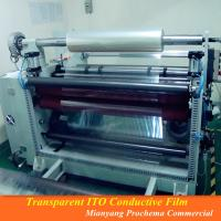Buy cheap conductive 100ohm ito film from wholesalers