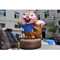 Wholesale Advertising Inflatable Cartoon Characters Lovely Inflatable Squirrel For Decoration from china suppliers