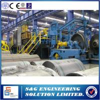 Horizontal Steel Shearing Machine , Common Coil Steel Uncoiling Cut To Length Machine