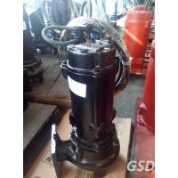 Wholesale Portable Submersible Non Clog Sewage Pump , Single Stage Stainless Steel Centrifugal Pump from china suppliers