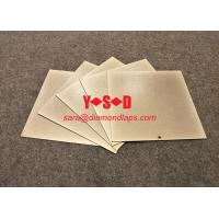 [8 inch  X 8 inch Grit 60-3000 ] Diamond Lapping Plate for glass Square shaped Metal based Electroplated Super Hard