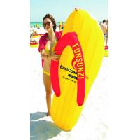 Buy cheap PVC Inflatable floating mattress Flip Flop & water float mat from wholesalers