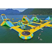 Quality Giant Inflatable Water Park Games /  Harrison Exciting Aqua Park Equipment For Adults or Kids for sale