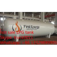 CLW brand 50m3 lpg storage tank price, ASME standard 50,000L surface bullet type bulk lpg gas storage tank for sale
