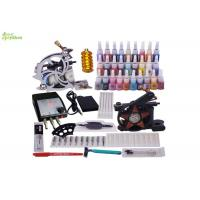 Wholesale Horizontal Starter Tattoo Kits With 1 Skin Marking Pen / 1 pc Tattoo Machine Grip from china suppliers