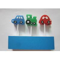 Wholesale Funny Technical birthday cake candles Race Car Shaped 8.5 cm Height from china suppliers