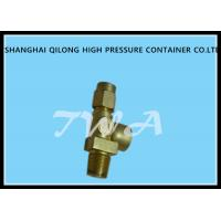 Wholesale Needle Type Oxygen Cylinder Valves / Pressure Relief Valve Not Have Cracks from china suppliers