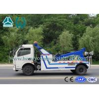Quality Lift Strength Wreckers Tow Trucks With Hydraulic System Dongfeng Chassis for sale
