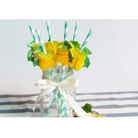 Buy cheap CE Certified Degradable Colored Paper Straws Environmental Protection from wholesalers
