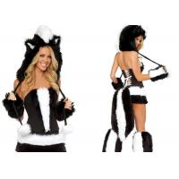 Quality Faux Fur  Fancy Dress  Animal Mascot Costumes Woman Sexy for Carnival Christmas for sale