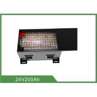 Wholesale 24V 200AH LiFePO4 Rechargable Batteries For Forklift Trucks from china suppliers