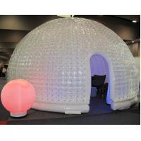 Wholesale Giant White Dome Inflatable Party Tent , Family Wedding Tents 8 *5 * 4 from china suppliers