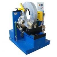 Wholesale Electric Wire Baler Cable Wrapping Machine With Two Driving Rollers 220V / 380V Voltage from china suppliers