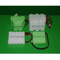 Wholesale Environmental Nicd Rechargeable Battery Pack , 1.2V 1500 mAh UL / ROHS / CE from china suppliers