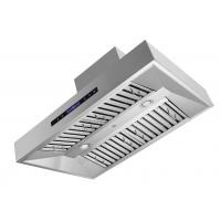 "Quality 10"" 1680cfm Professonal Square Box New Stainless Steel Range Hood Baffle Filter for sale"