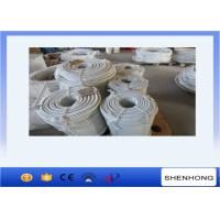 Wholesale Raw White 16mm Double Braided Nylon Rope to Pull During Tower Eerection from china suppliers