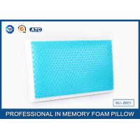 Wholesale Standard size memory foam cooling gel pillow with different gel layer from china suppliers