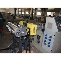 Quality Solid Wall Water Gas Plastic Pipe Making Machine Extrusion Line , FCC for sale