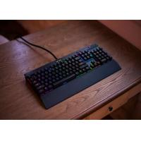 Wholesale Rainbow Backlit Ergonomic Illuminated Wired Gaming Keyboard 485 x 155 x 50mm from china suppliers