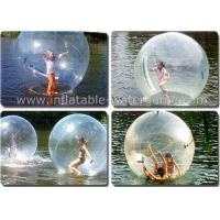 Wholesale Transparent Inflatable Water Walking Balls , Water Zorb Ball For Kids from china suppliers