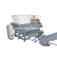 Buy cheap Nylon Wire Single Shaft Shredder Machine With CNC Processing Rotor / PLC Program Control from wholesalers