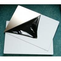Wholesale A4 310*480mm Size Mirror / Matt Stainless Steel Plate PVC Card Material from china suppliers