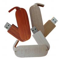 Wholesale OEM 16GB, 32GB Portable Recycled High Speed Swivel Wooden Usb Flash Drives U Disks from china suppliers