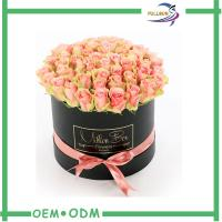 Wholesale Custom Luxury Flower Gift Boxes Gold Hot Stamping for Preserved Fresh Flower from china suppliers