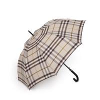 Wholesale 27 Inch 8 Ribs British Classic Style Auto Open Striaght Umbrella with PU Coating Handle from china suppliers
