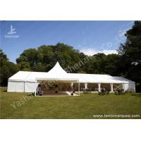 Wholesale Fixable Temporary Alumminum Frame Luxury Wedding Tents With Lining Decorations from china suppliers