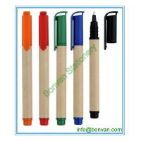 Wholesale paper ball point pen, paper material ballpen for promotional use from china suppliers