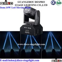 Wholesale Stage Light Equipment LED Moving Head Spot White Color Beam Light from china suppliers