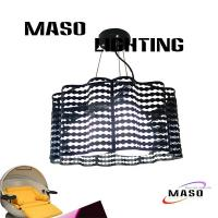 Wholesale MASO Wave Lace Iron Pendant Lamp Three light/One Lamp optional MS-I6028 from china suppliers