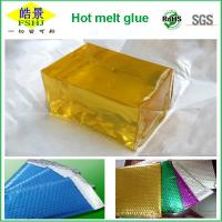 Wholesale Light Yellow Block No Drawing EVA Hot Melt Adhesive For PE Air Bubble Bags Sealing from china suppliers