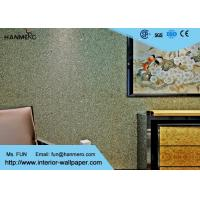 Wholesale Custom Modern Removable Wallpaper , Low Flammability Decorative Wall Covering from china suppliers