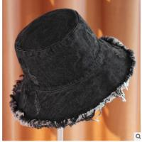 Wholesale Unisex 100% Washed Cotton Bucket Hat , Plain Summer Foldable Bucket Hat from china suppliers