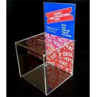 Wholesale wholesale lockable acrylic donation money box manufacturer from china suppliers