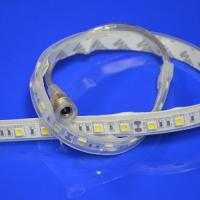 Wholesale DC 12V / 24V Warm White Flexible SMD 5050 LED Strip IP67 Strip Light from china suppliers
