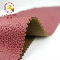 Buy cheap Bronzing Suede Woven Soft Leather Look Colourful In-stock fabric for upholstery and Sofa from wholesalers
