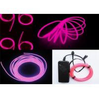 Wholesale 100~150cd.m2 Polar Light 3 Glow EL Wire Purple For Children Placing , Home from china suppliers