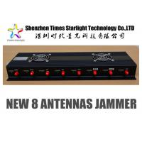 Wholesale WiFi Network Jammer Device 6 - 10 Antennas For Police Forces / Military from china suppliers