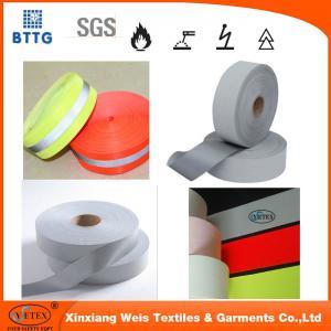 Quality YSETEX EN11612 EN20471 grey fire retardant reflective tapes for sale