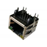 Wholesale LPJE101AGNL LED RJ45 Modular Jack , RJS-A06-12-YG-35 8P8C Shield from china suppliers