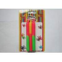 Wholesale Non - Toxic Long Thin Birthday Candles , Decorated Color Changing Wax Candles from china suppliers