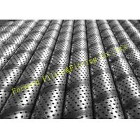 Galvanized Stainless Steel Perforated Pipe Large Diameter 1/4 -12 Center Tube
