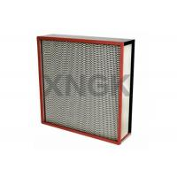 Quality Galvanized Steel Frame High Temperature Medium Efficiency Air Filter for Oven for sale