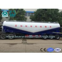 Wholesale 58000L 3 Axle Large Capacity Cement Powder Trailer For Transportation from china suppliers